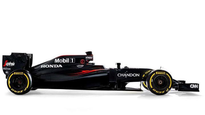 Morro corto y nueva aerodinámica, en el MP4-31 de McLaren