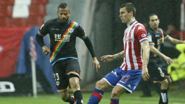2-2. Reparto de puntos entre Sporting y Rayo en un partido trepidante