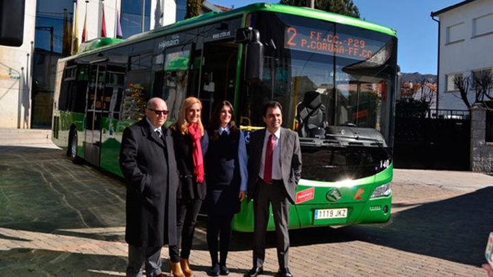Collado Villalba contará con cuatro nuevos autobuses híbridos