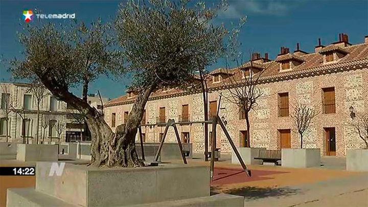 Preocupación entre los vecinos de la plaza de España de San Fernando de Henares
