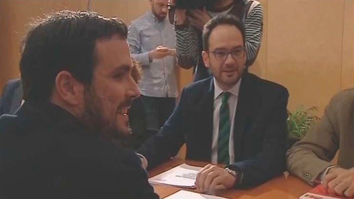 PSOE, Podemos, Compromís e IU se reunirán este lunes en el Congreso