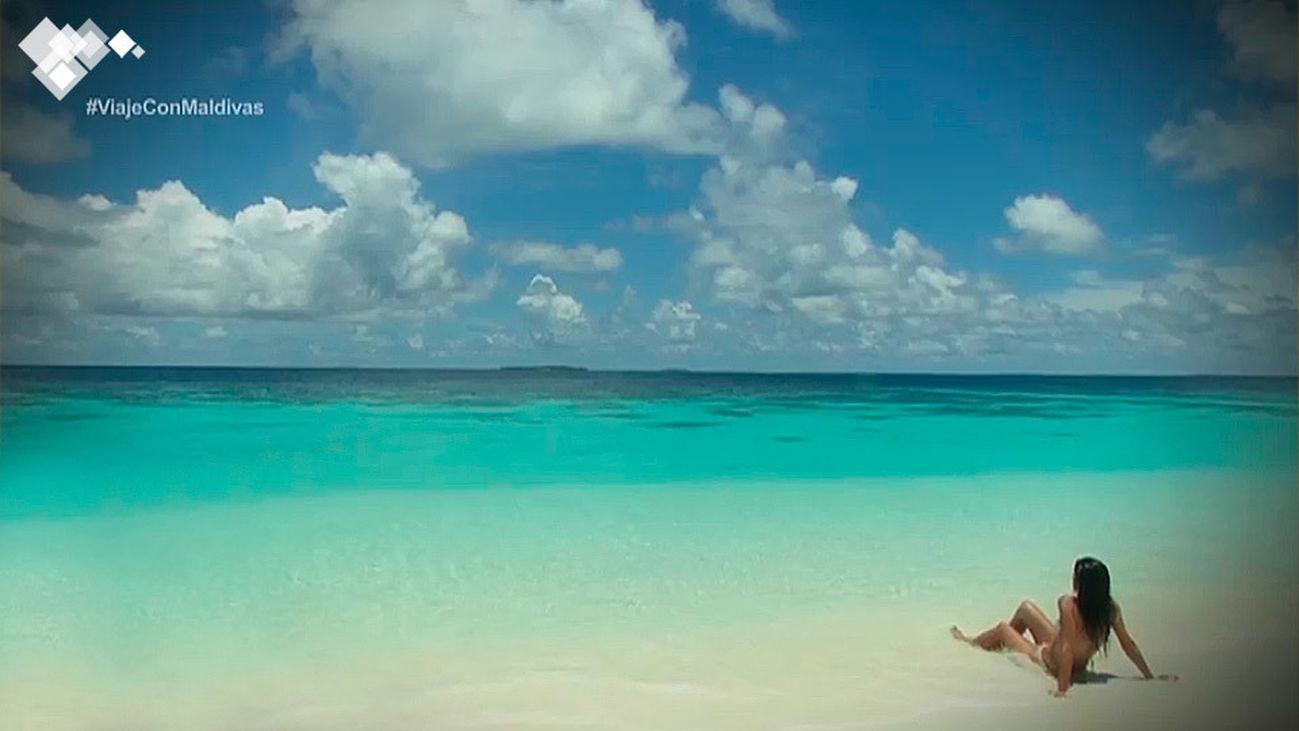 'Viaje con...', destino Maldivas
