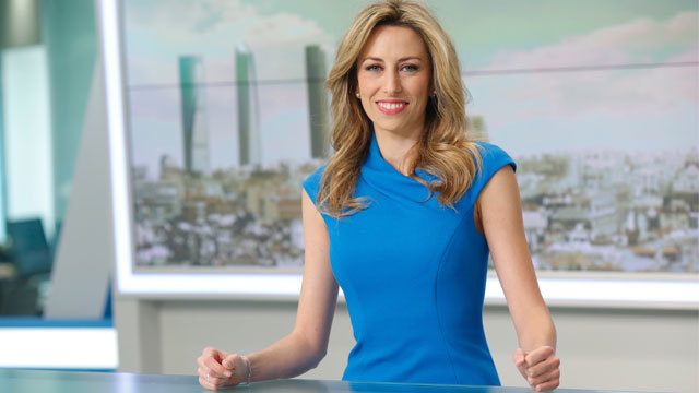 Cristina Ortega, Telenoticias Fin de Semana