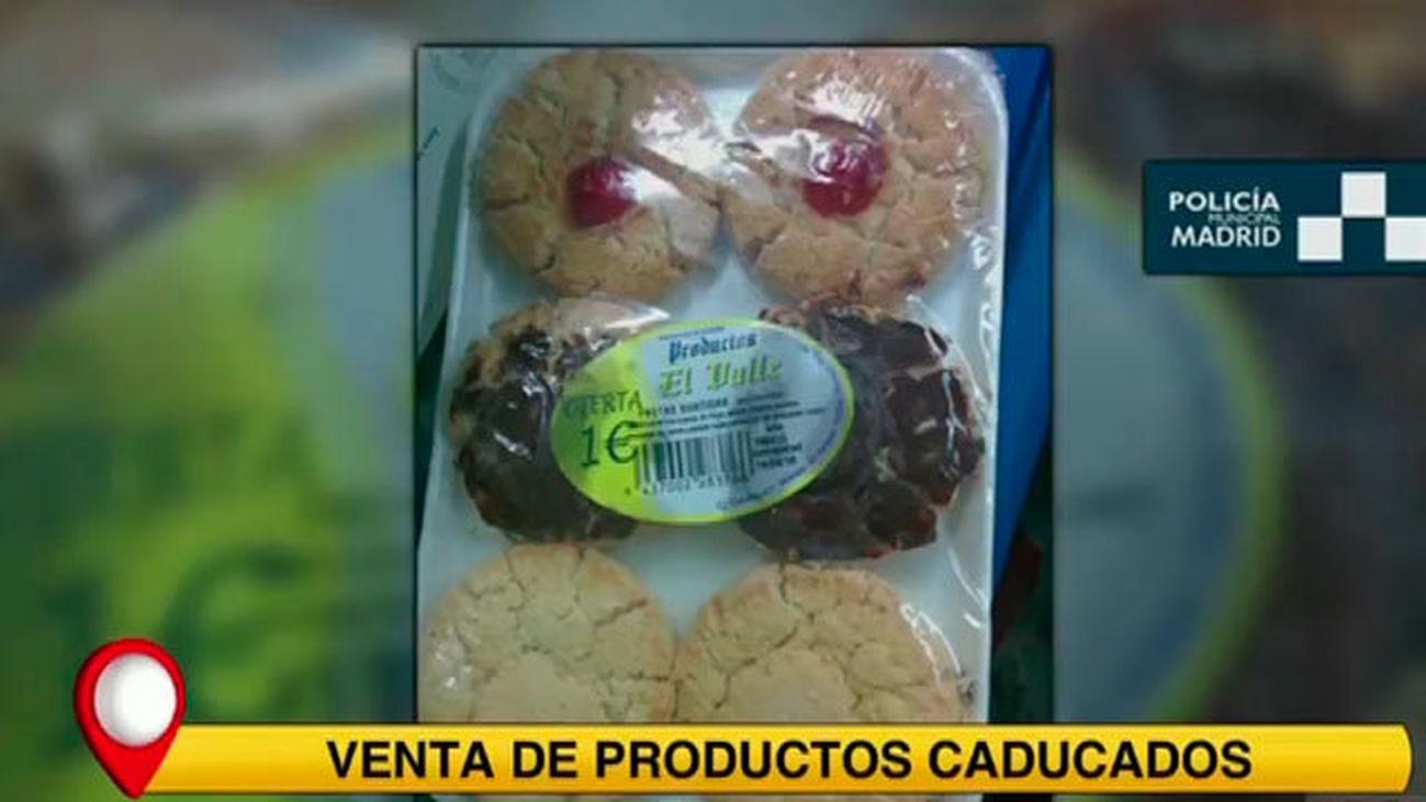 Más de 500 productos caducados en una tienda de Canillejas