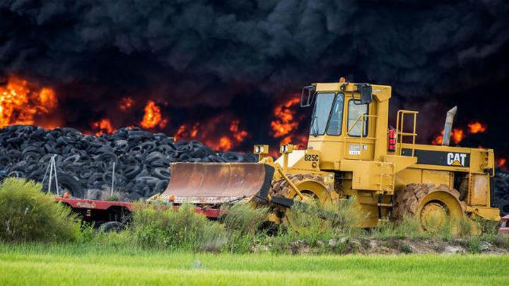La Junta teme que el incendio de Seseña se prolongue hasta una semana