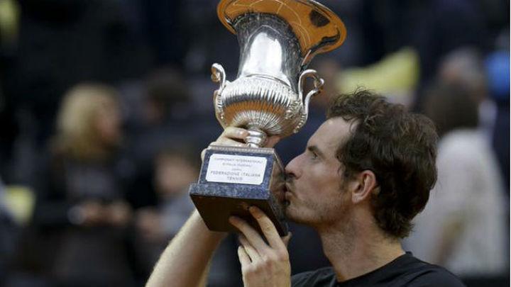 Murray se venga de Djokovic y se estrena en Roma