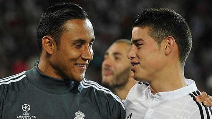 Navas la cara; James la cruz en la irregular Liga del Real Madrid