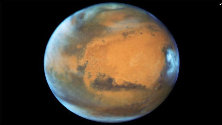 El Hubble revela una nueva y detallada imagen de Marte