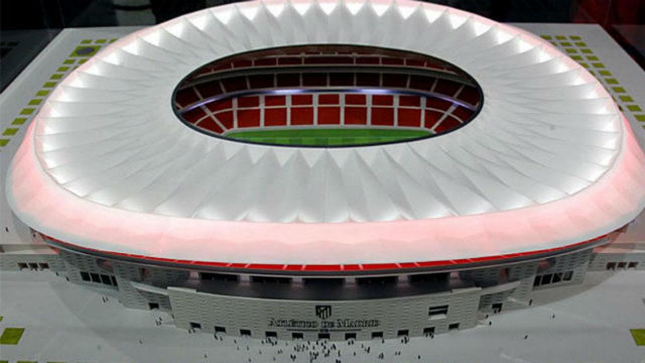 8.000 socios del Atlético piden agrupar sus localidades en el nuevo estadio