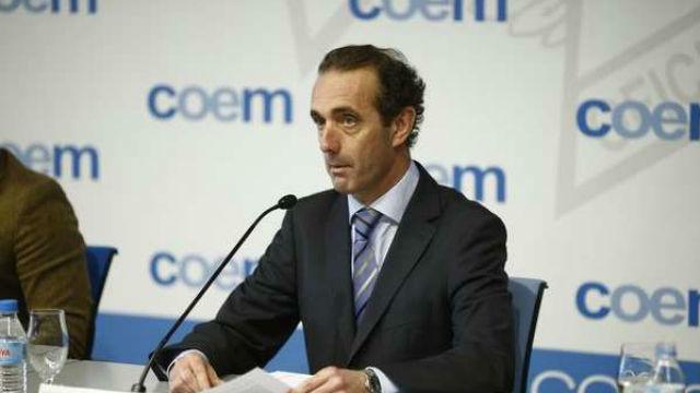 Antonio Montero, presidente del Colegio de Odontólogos y Estomatólogos de Madrid