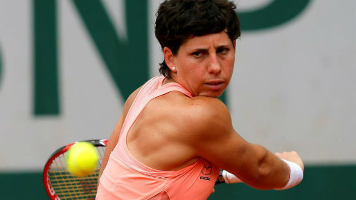 Roland Garros: Carla Suárez, a tercera ronda