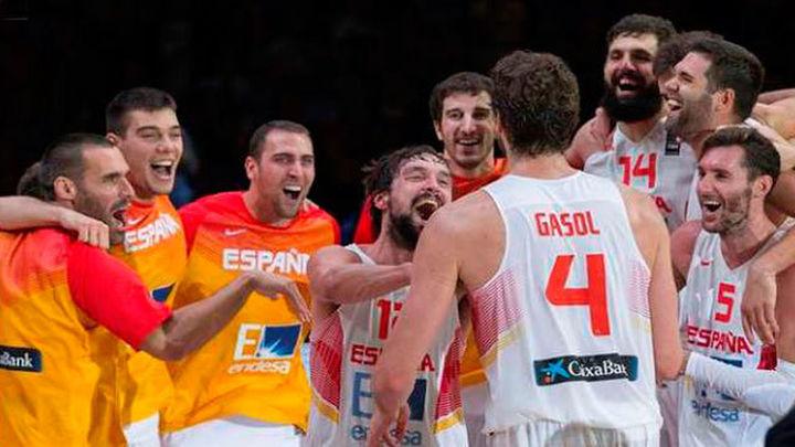 España estará en los Juegos Olímpicos y en el Eurobasket 2017