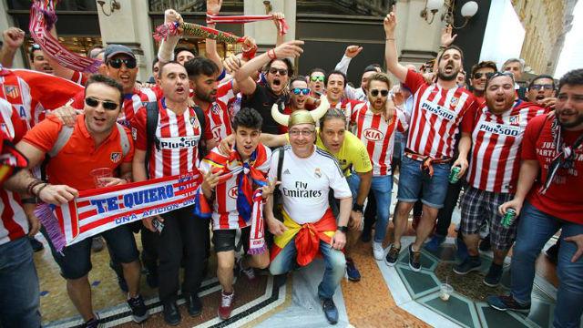Aficionados del At. Madrid