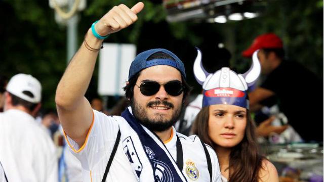 Aficionados del Real Madrid