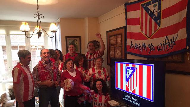 Con el Atlético de Madrid hasta el final