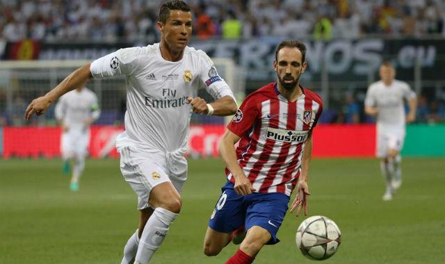 Cristiano Ronaldo y Juanfran