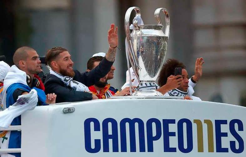 La Copa llega a Cibeles