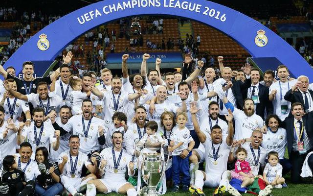 El Real Madrid celebra la Undécima