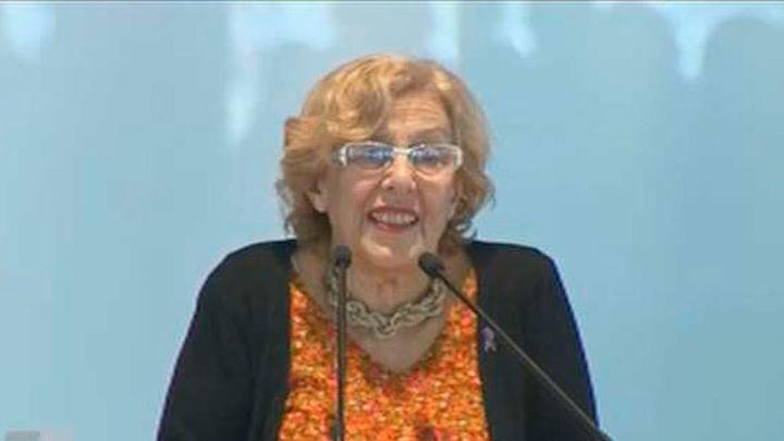 Carmena ejercerá las competencias municipales de Cultura y Deportes