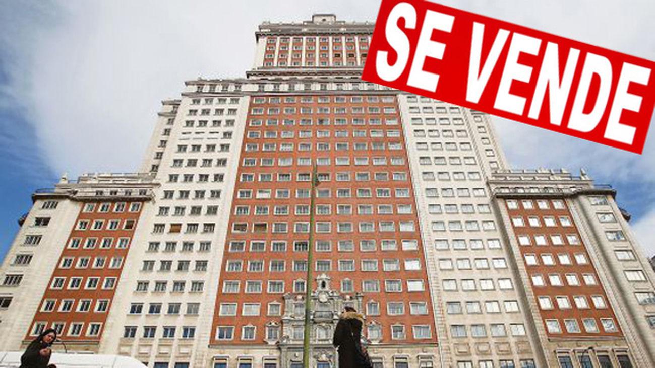 Wanda estudia varias ofertas por el edificio España, incluida una española