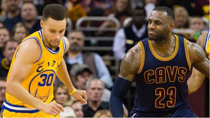 Curry y LeBron vuelven a retarse por el anillo