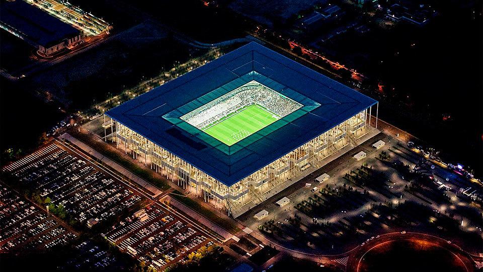 Stade de Bordeaux, en Burdeos