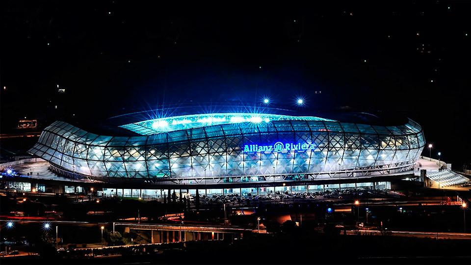 Stade de Nice, en Niza