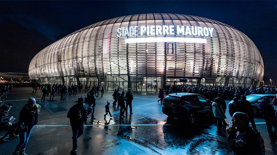 Stade Pierre Mauroy, Metrópoli de Lille
