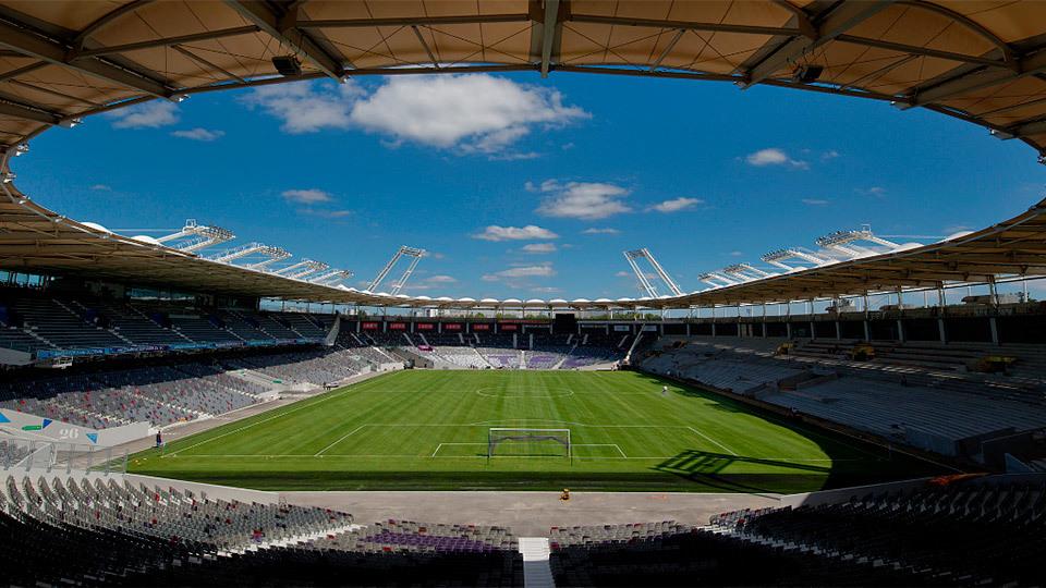 Stade de Toulouse, en Toulouse