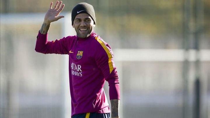 El Barcelona confirma el adiós de Dani Alves