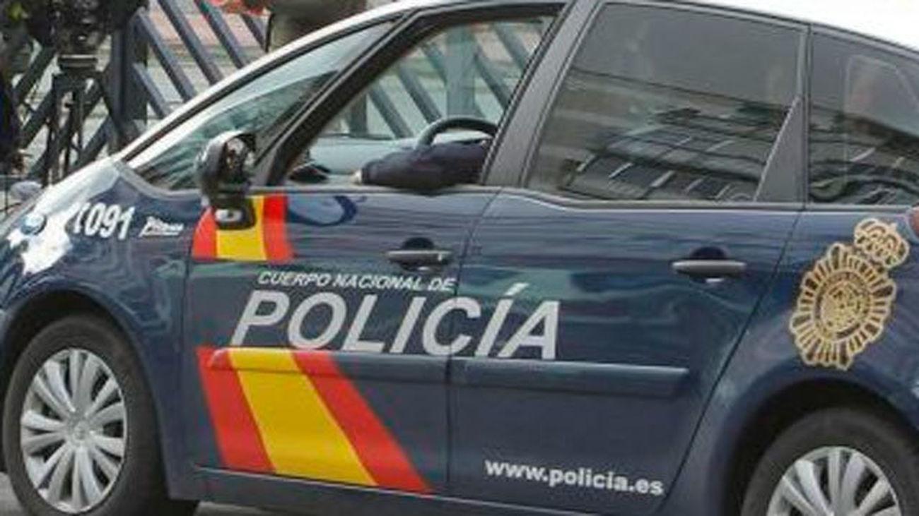 Policía Nacional en Madrid