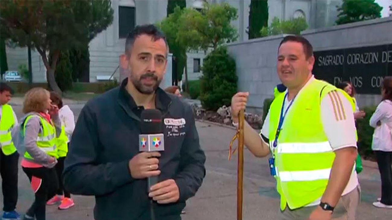 Peregrinación de Villaconejos al Cerro de Los Ángeles