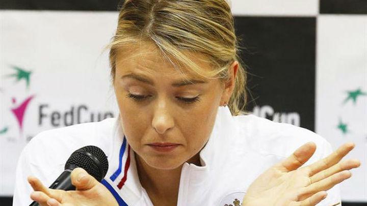 Sharapova, suspendida dos años por dopaje