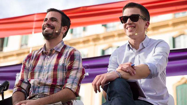 Garzón y Errejón en Málaga