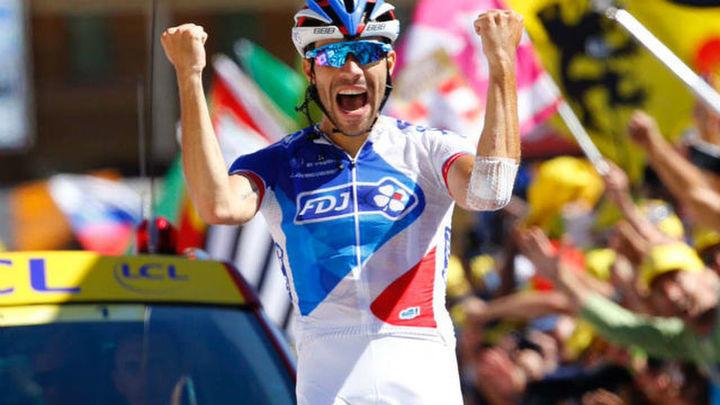 """Dauphiné: Gana Pinot, Froome salva el liderato y Contador se deja 8"""""""