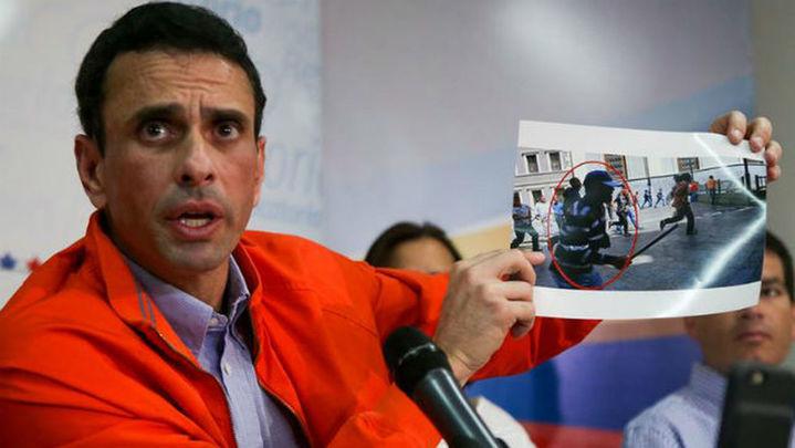 """Capriles: """"Venezuela es una bomba que puede explotar en cualquier momento"""""""
