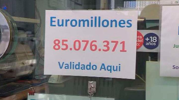 Un acertante del Euromillones validado en Coslada percibirá más de 85 millones de euros