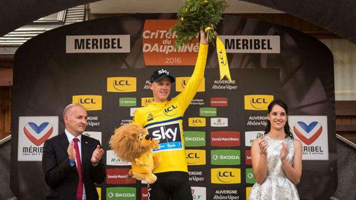Froome se adjudica la Dauphiné; Contador, 5º