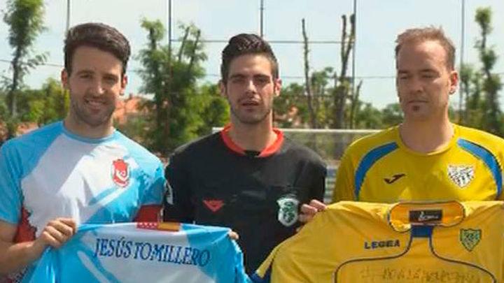 Partido de fútbol contra la homofobia en Brunete
