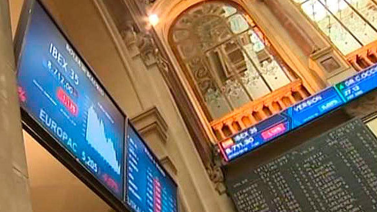El Ibex rebota un 1,53% y rompe con cinco sesiones en negativo