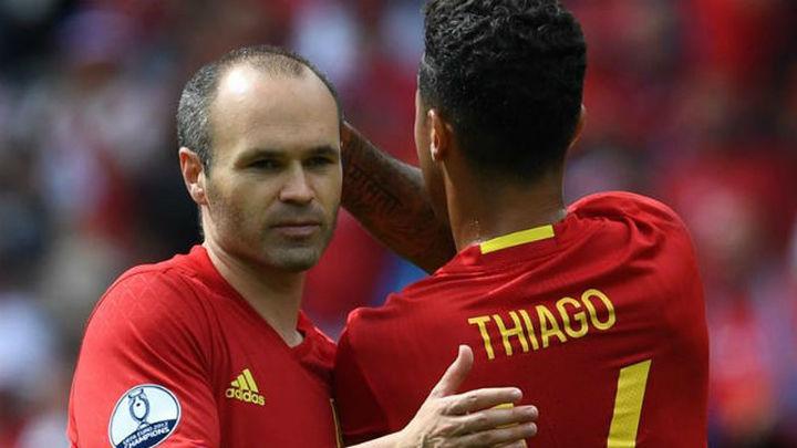 La UEFA se olvida de Iniesta en el once ideal de la primera jornada