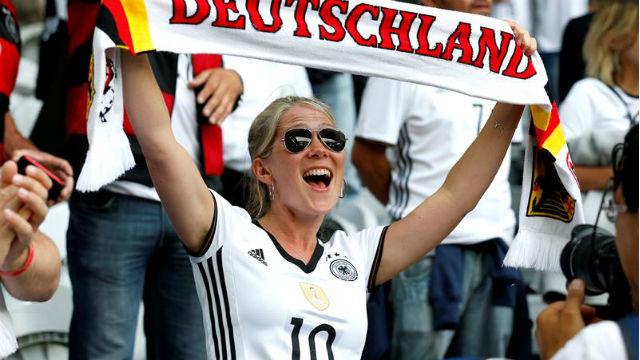 Aficionada de Alemania