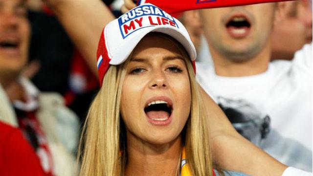 Aficionada de Rusia