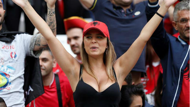 Aficionada albanesa