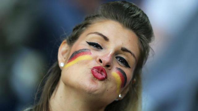 Aficionada alemana