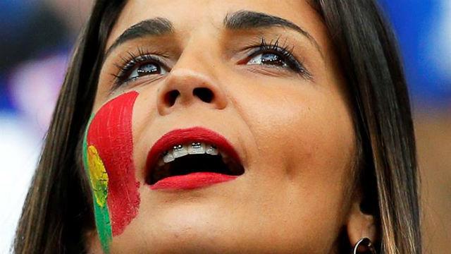 Aficionada portuguesa
