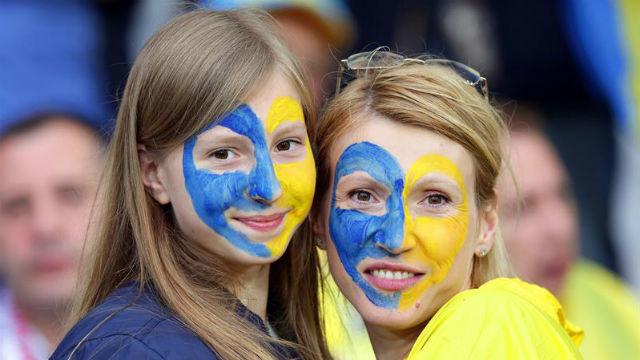 Aficionadas de Ucrania