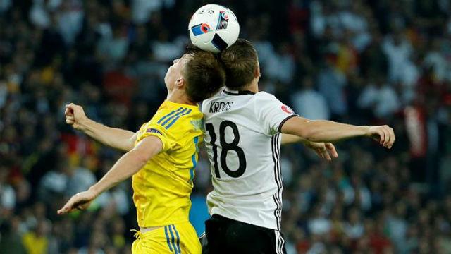 Alemania, 2 - Ucrania, 0