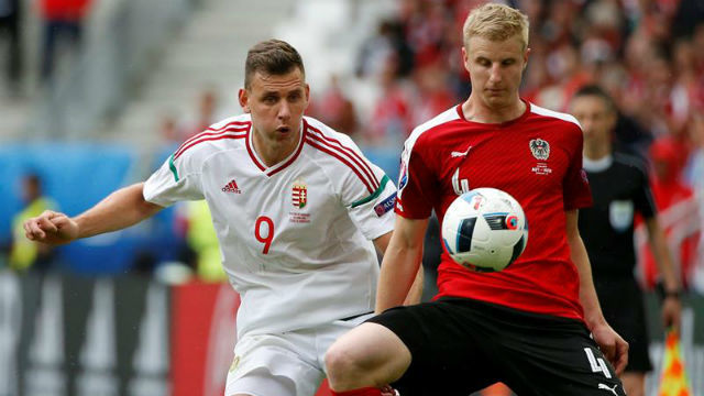 Austria, 0 - Hungría, 2