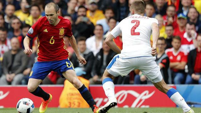 España, 1 - República Checa, 0